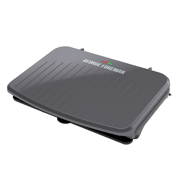 9-Serving Classic Plate Electric Indoor Grill and Panini Press - Gunmetal Grey GRS120GT