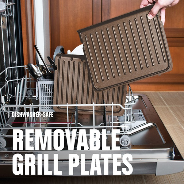 RPGF3602TG Removable plates