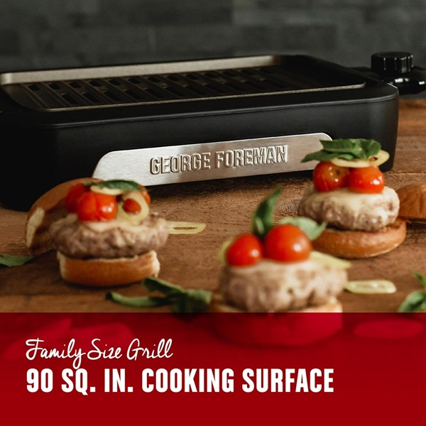GFS0090SB Family Size Grill