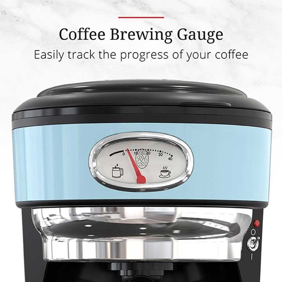 Coffee Brewing Gauge - Easily track the progress of your coffee