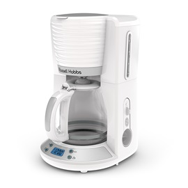 Coventry 8-Cup White Coffeemaker