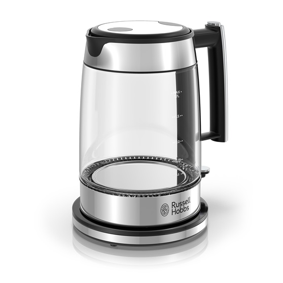 KE7900BKR Black Glass Electric Kettle