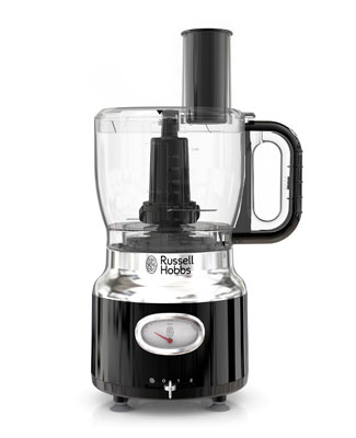 Russell Hobbs® Retro Style Black Food Processor
