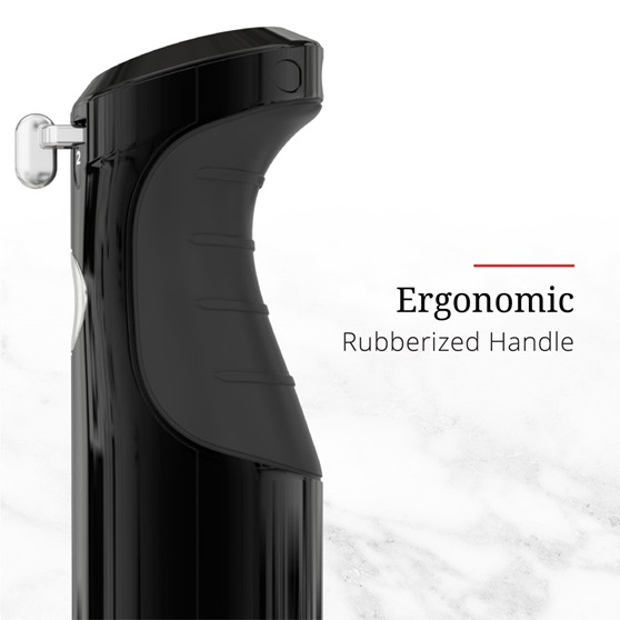 Ergonomic Rubberized Handle