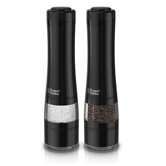 RUSSELL HOBBS™ Electric Salt & Pepper Mills, Black