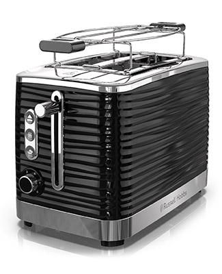 Russell Hobbs Coventry Black 2-Slice Toaster