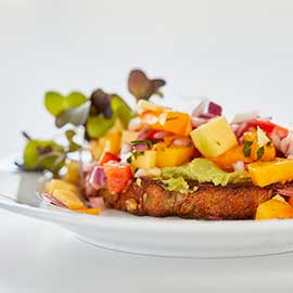 Avacado Mango Salsa Toast Recipe from Russell Hobbs