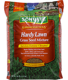 Supreme Selections Hardy Lawn Grass Seed Mixture